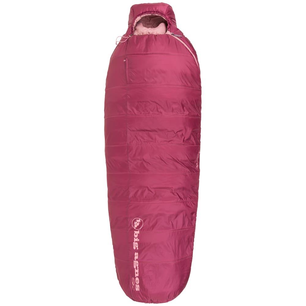 BIG AGNES Women's Slavonia 30 Sleeping Bag, Petite - ROSE
