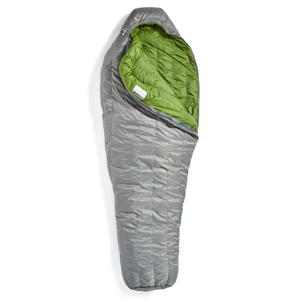 EMS Mountain Light 20 Sleeping Bag, Regular - PEWTER/CHIVE