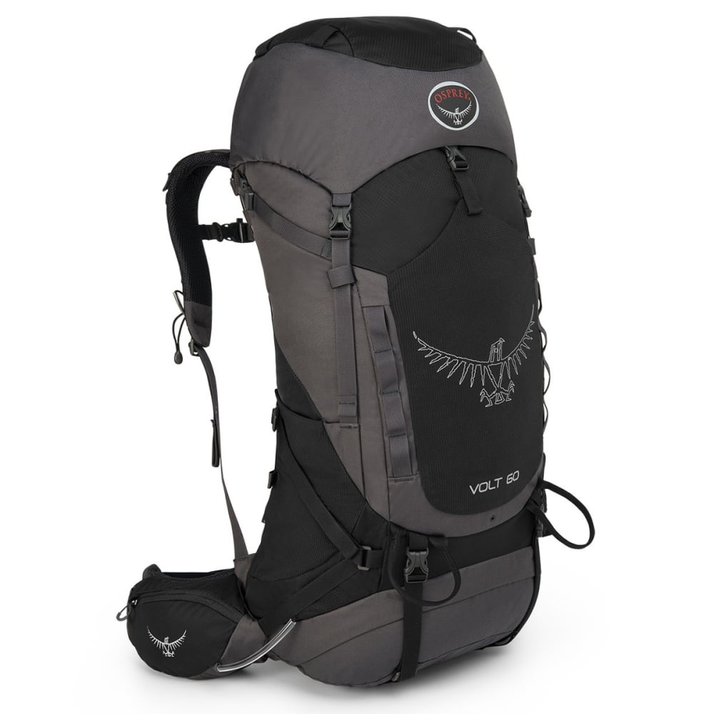 OSPREY Volt 60 Backpack, Tar Black - TAR BLACK