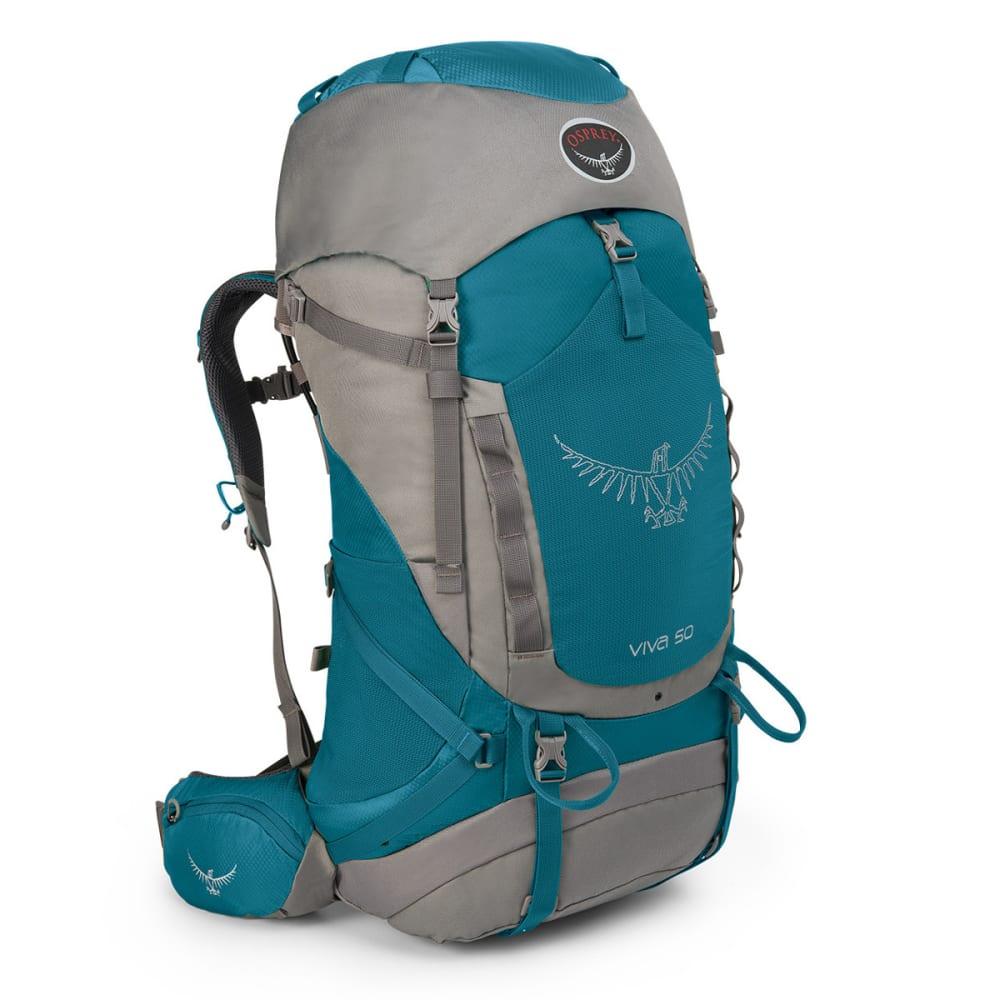 OSPREY Women's Viva 50 Backpack - COOL BLUE