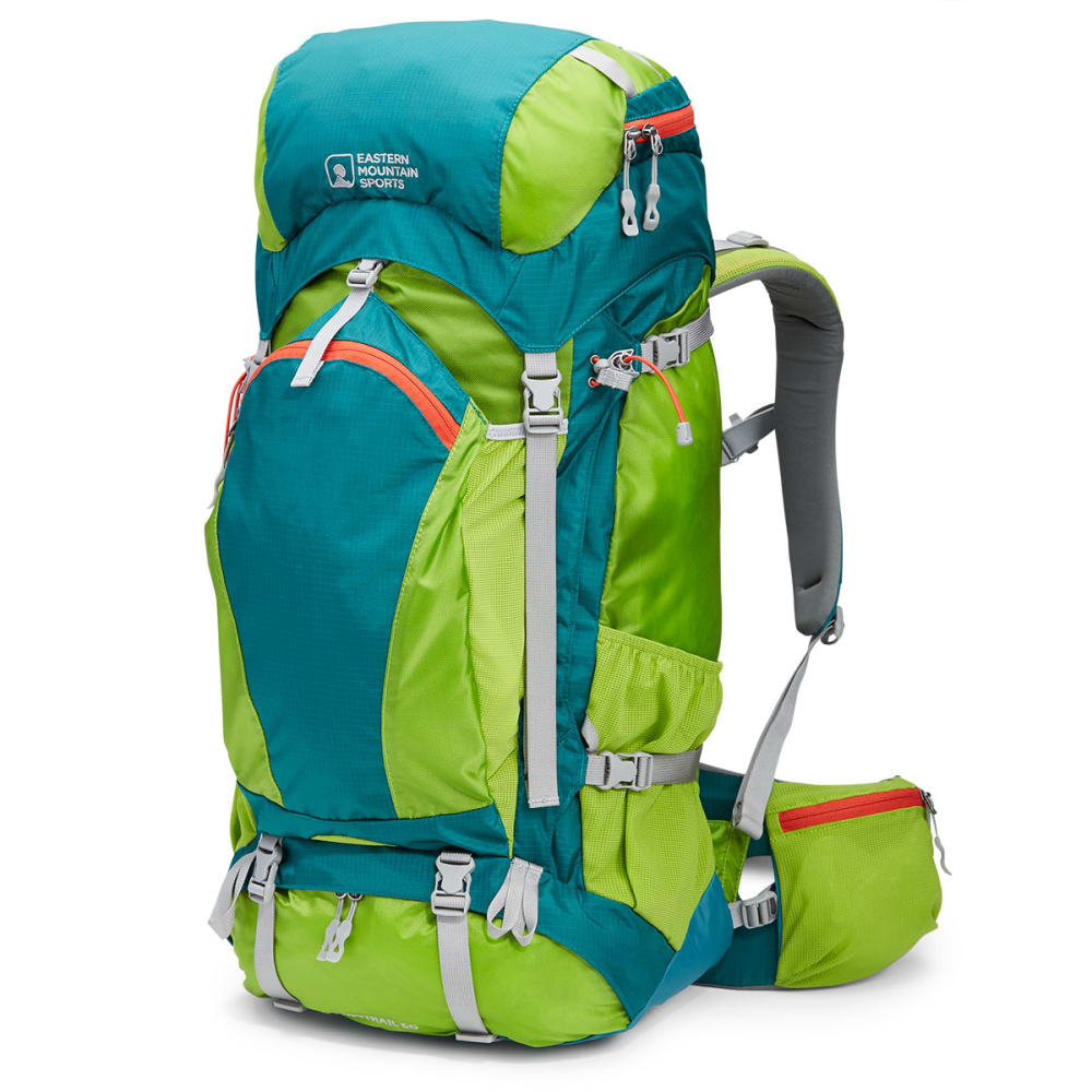 EMS® Women's Long Trail 60 Backpack  - MACAW/GREEN
