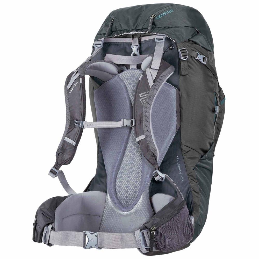 GREGORY Women's Deva 60 Backpack - CHARCOAL GREY