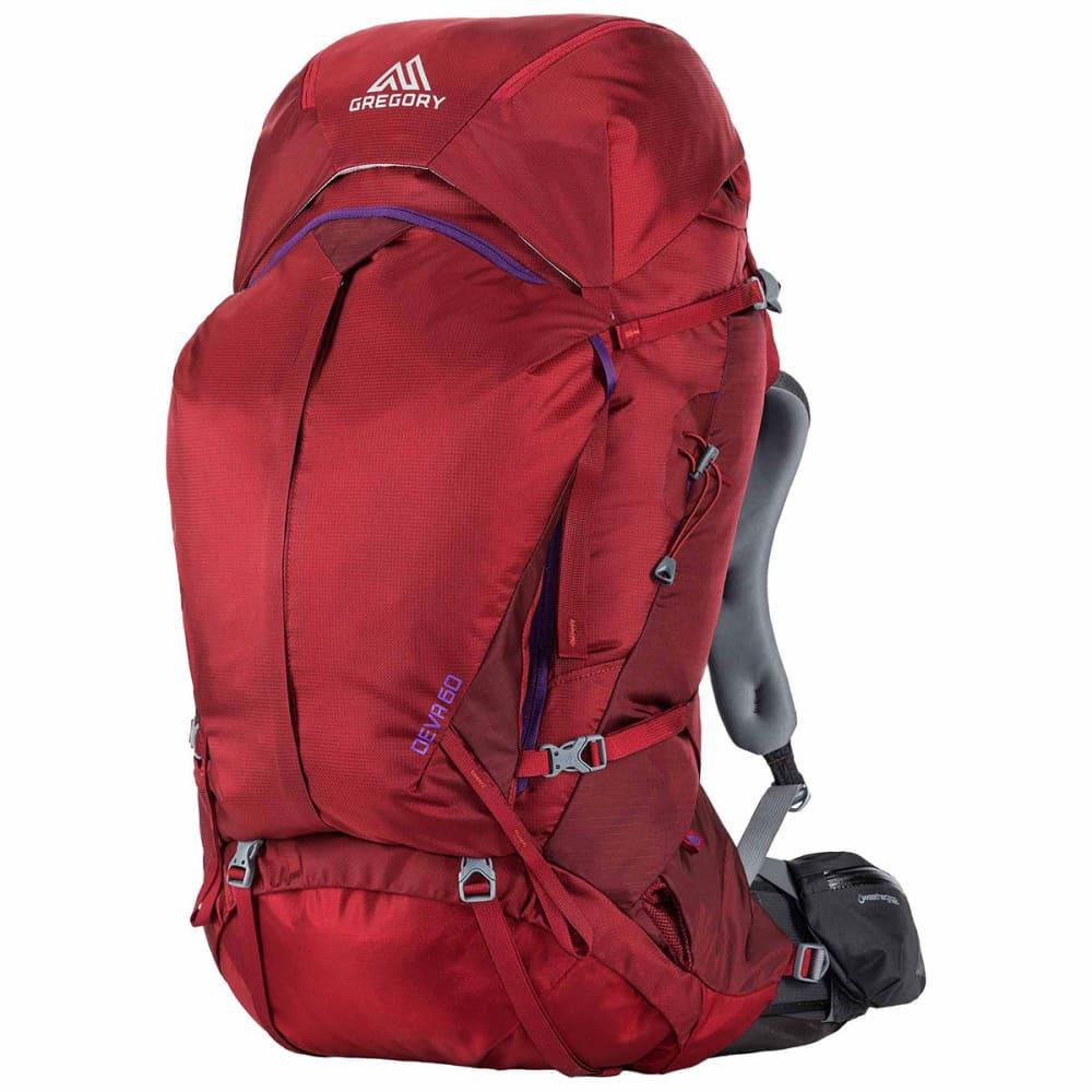 GREGORY Women's Deva 60 Backpack - RUBY RED