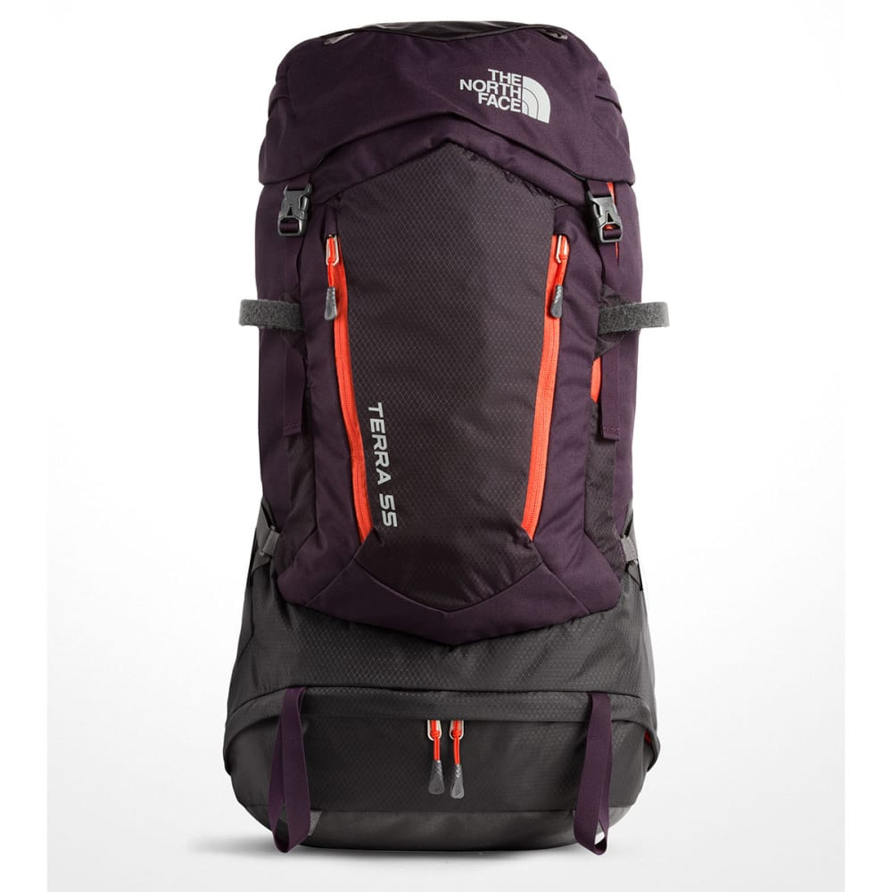 THE NORTH FACE Women's Terra 55 Backpack - GALAXY PURPLE/RED