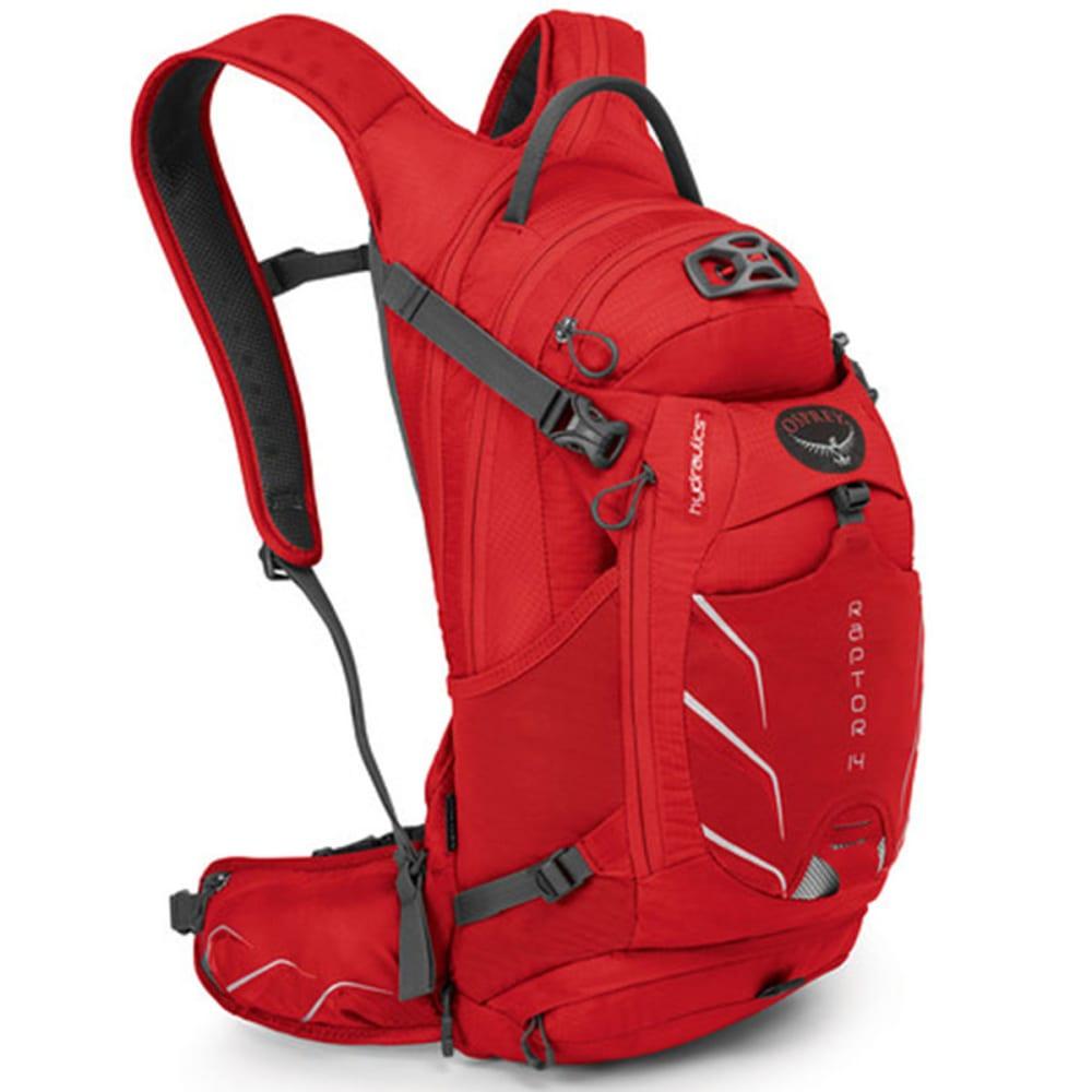 OSPREY Raptor 14 Hydration Pack - RED PEPPER