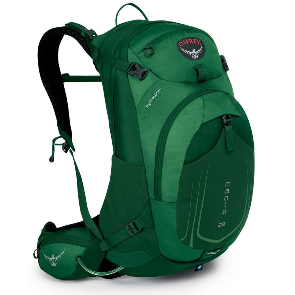 OSPREY Manta AG™ 28 Daypack, Spruce Green - SPUCE GRN