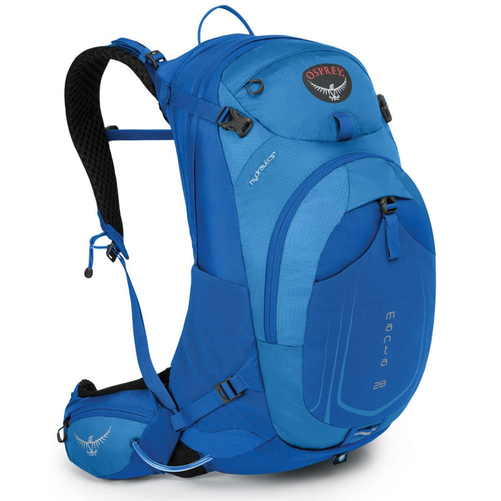 OSPREY Manta AG™ 28 Daypack, Sonic Blue - SONIC BLUE