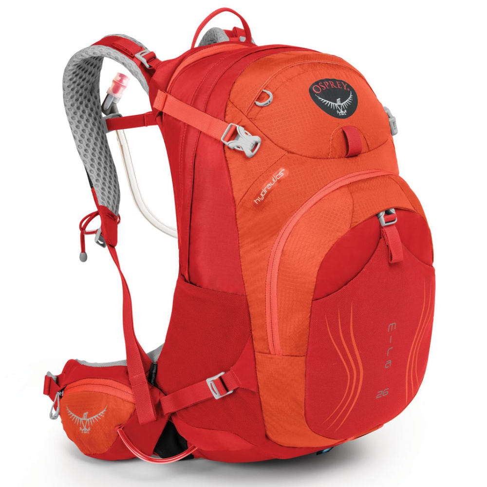 OSPREY Women's Mira AG 26 Hydration Pack   - CHERRY RED