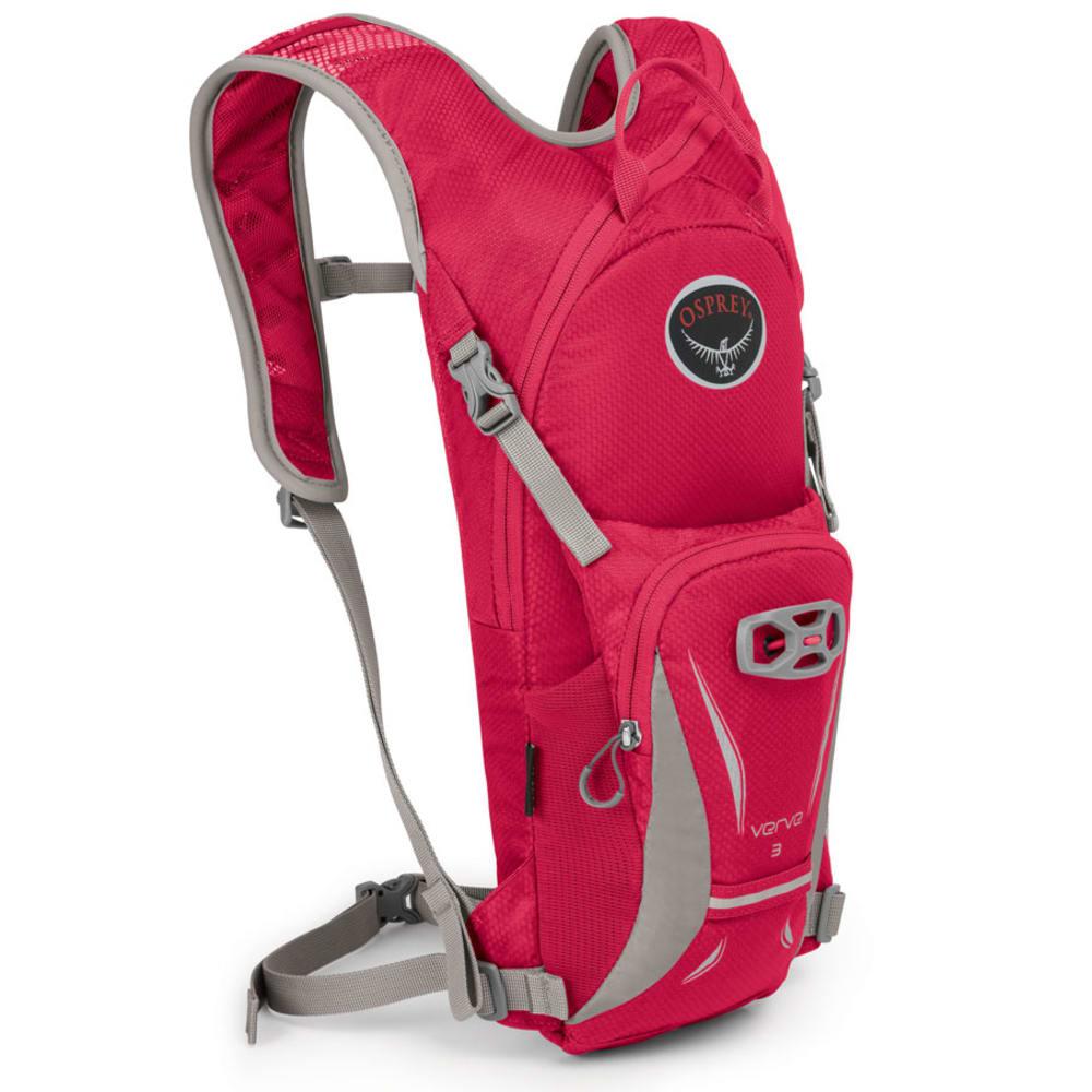 OSPREY Women's Verve 3 Hydration Pack - SCARLT RED