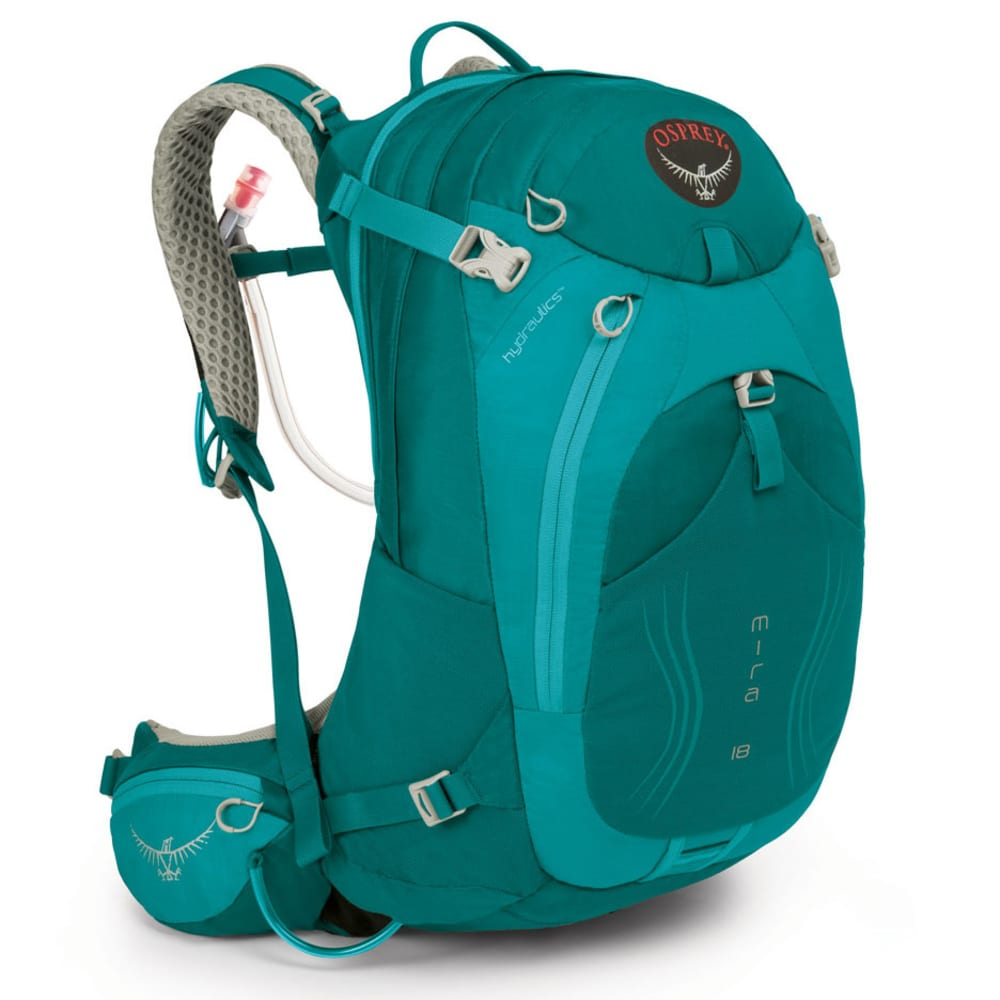 OSPREY Women's Mira AG 18 Hydration Pack - BONDI BLUE