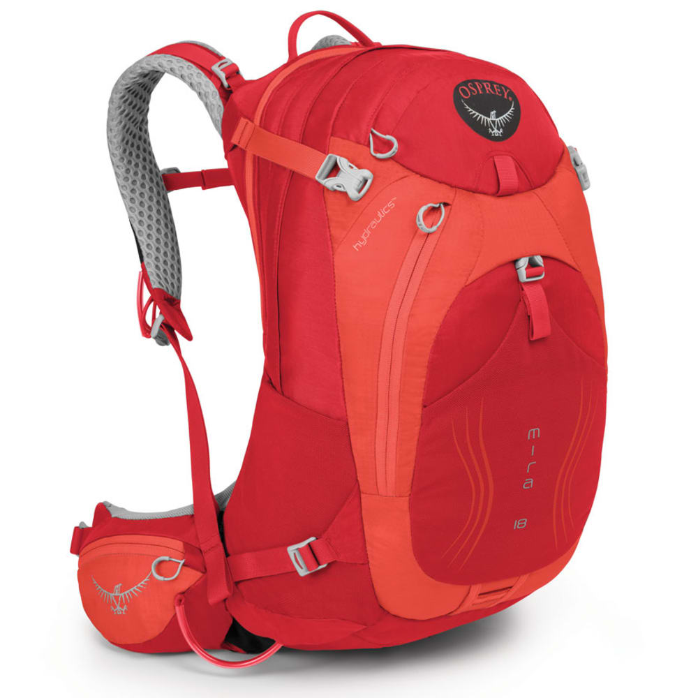 OSPREY Women's Mira AG 18 Pack, Cherry Red - CHERRY RED