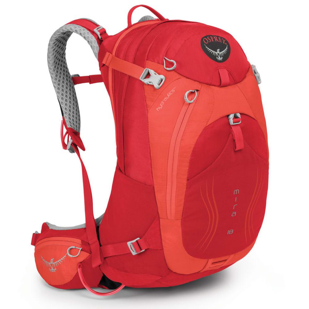 OSPREY Women's Mira AG 18 Pack, Cherry Red - CHERRY RED