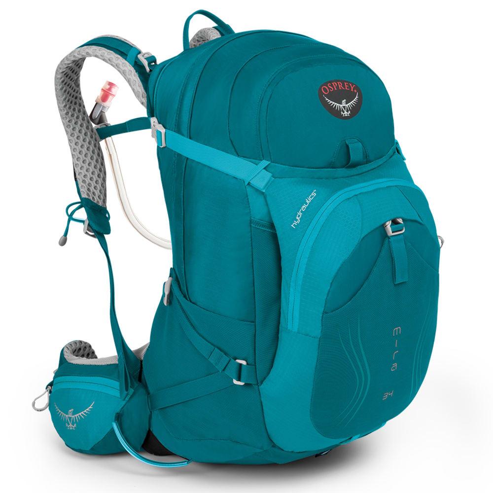 OSPREY Women's Mira AG™ 34 Backpack, Bondi Blue - BONDI BLUE