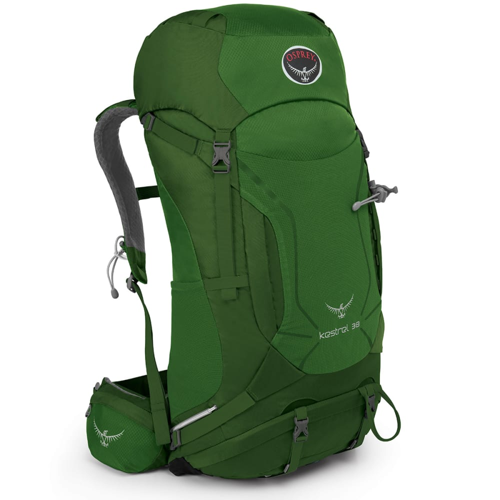 OSPREY Kestrel 38 Pack, Jungle Green - JUNGLE GRN