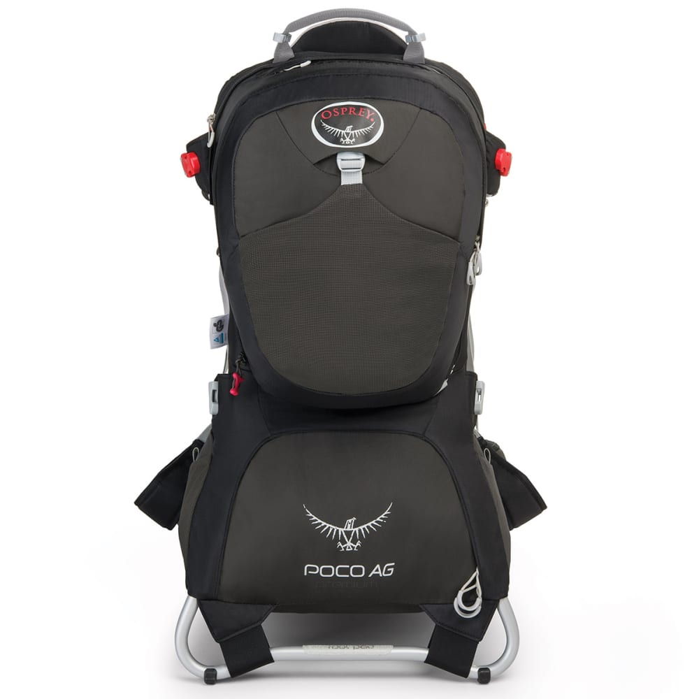 OSPREY Poco AG Premium Child Carrier - BLACK
