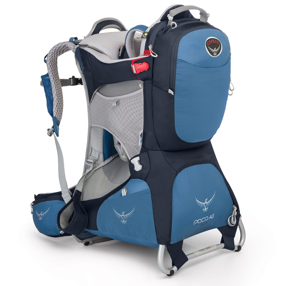 OSPREY Poco AG™ Plus Child Carrier Pack - SEASIDE BLUE