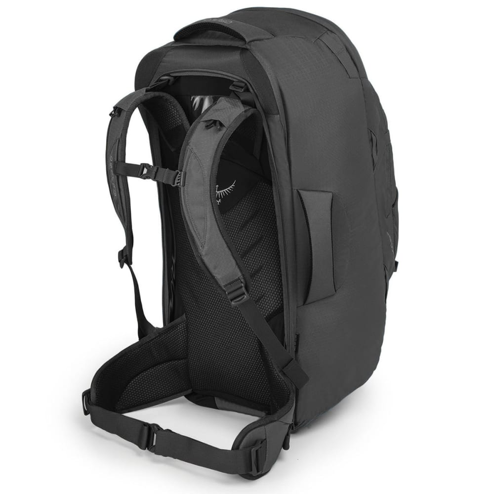 OSPREY Farpoint 70 Travel Pack, Volcanic Grey 0c75ea7805