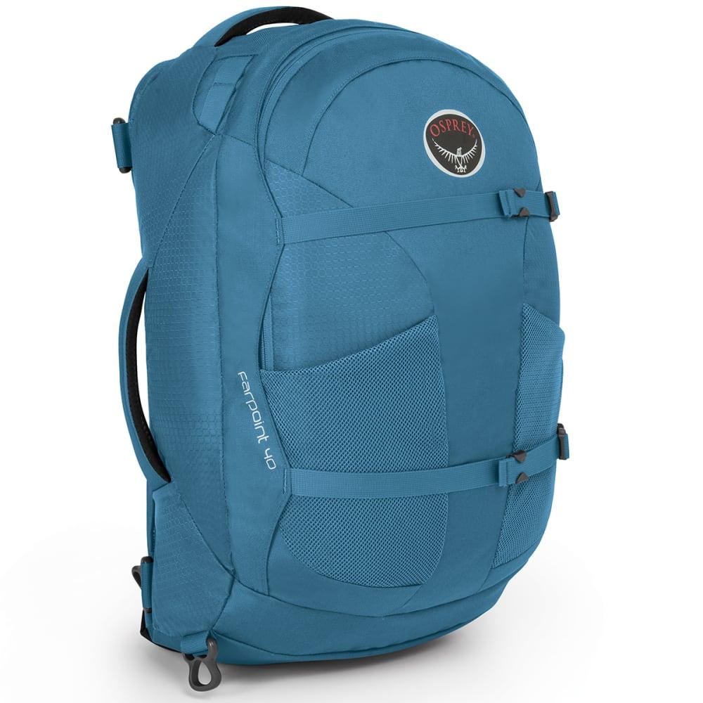 OSPREY Farpoint 40 Travel Pack, Caribbean Blue - CRBBEAN BL