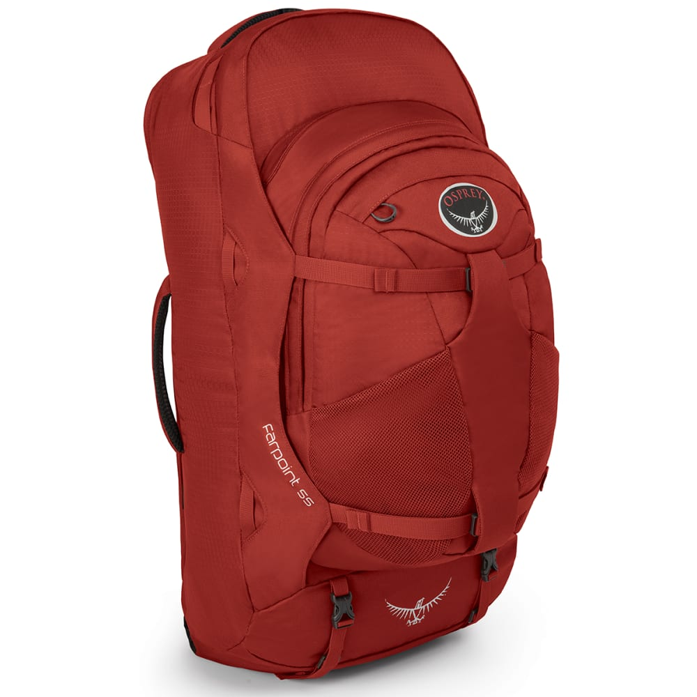 OSPREY Farpoint 55 Backpack - JASPER RED