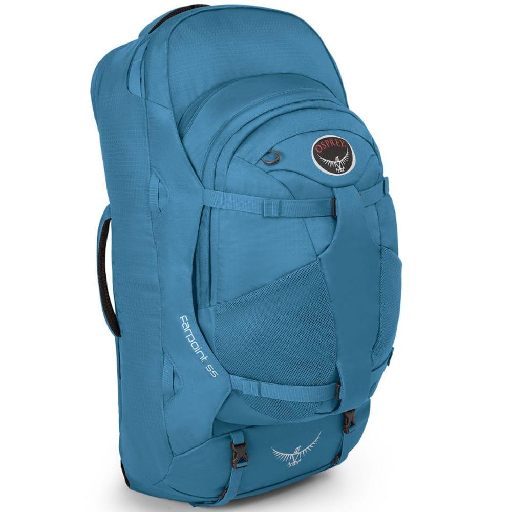 OSPREY Farpoint 55 Travel Pack, Caribbean Blue - CRBBEAN BL