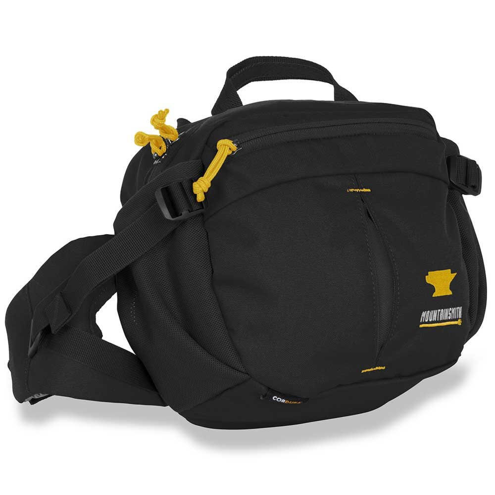 MOUNTAINSMITH Drift Messenger Bag - HRTG BLACK
