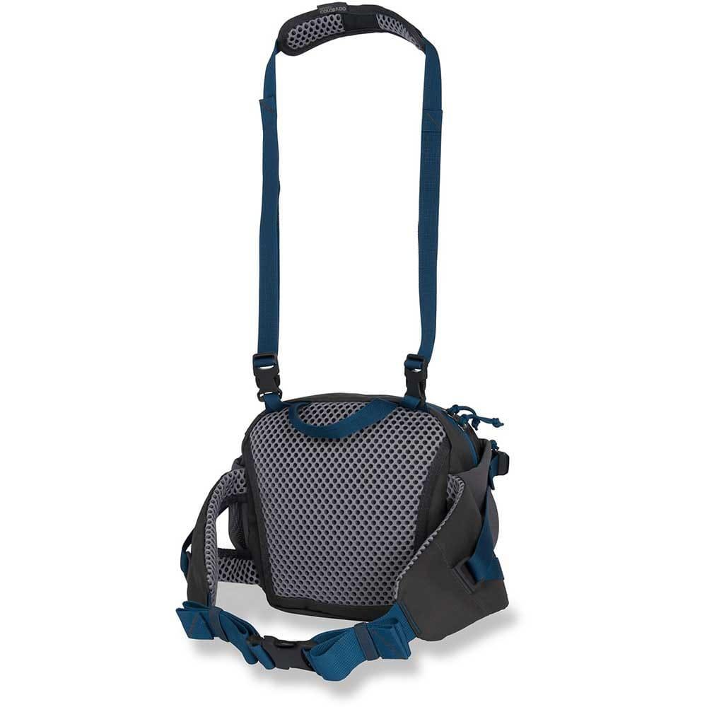 MOUNTAINSMITH Drift Messenger Bag - ANVIL GREY