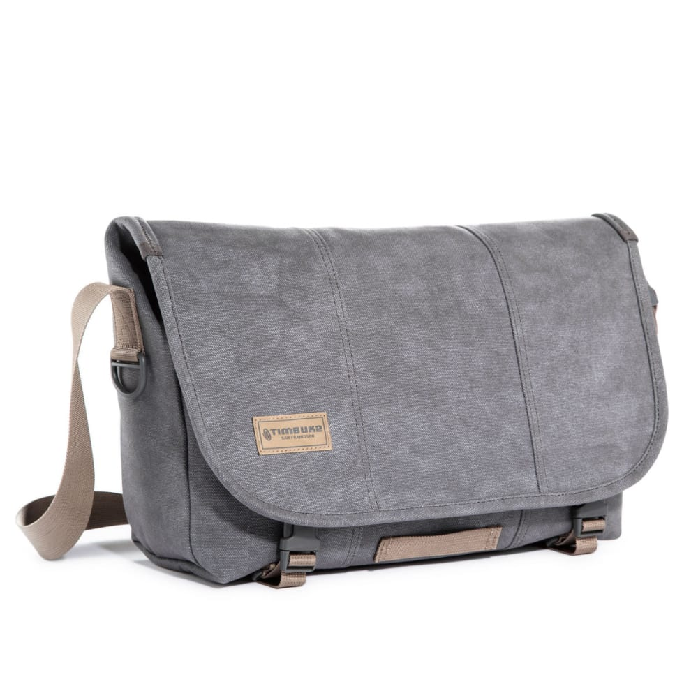 TIMBUK2 Small Vintage Metal Classic Messenger Bag - LIGHT GREY