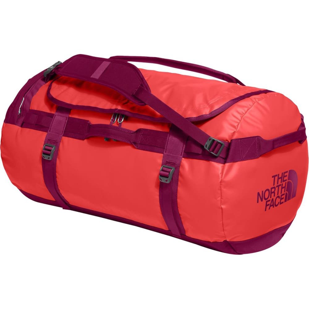 THE NORTH FACE Base Camp Duffle, Medium - CAYENNE RED/REGAL
