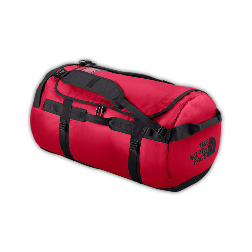 THE NORTH FACE Base Camp Duffel Bag, Large - TNF RED/BLACK
