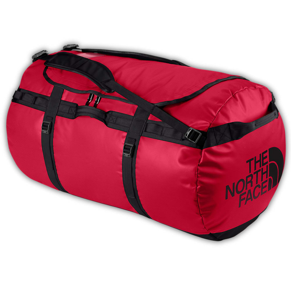 THE NORTH FACE Base Camp Duffel Bag, XL - TNF RED/TNF BLACK