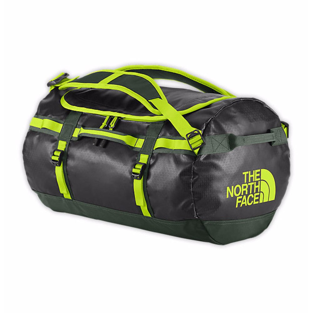 THE NORTH FACE Small Base Camp Duffel Bag - BLACK/GREEN