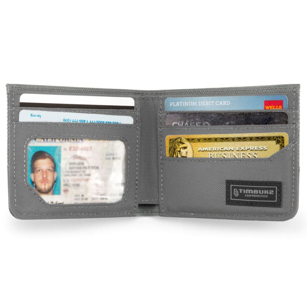 TIMBUK 2 Core Wallet, Black/Grey - OTH PATTRN