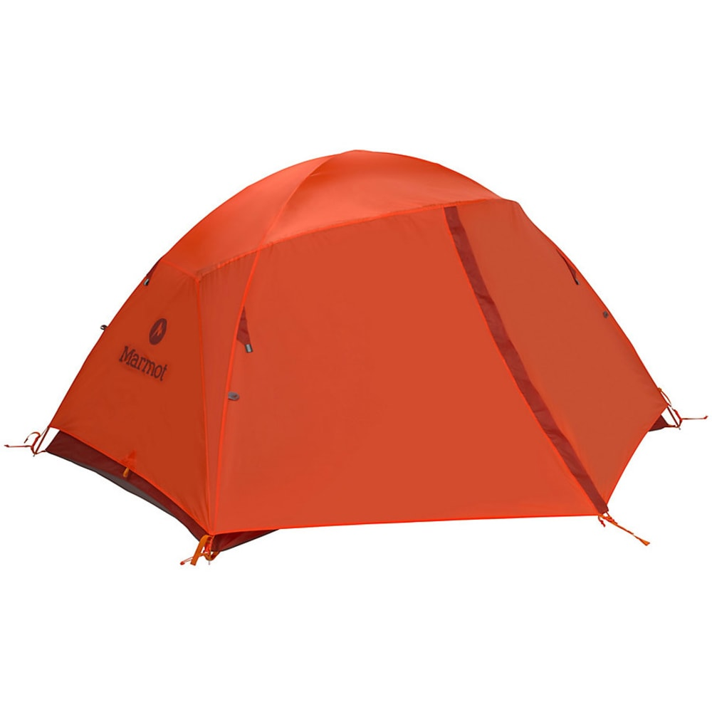 MARMOT Catalyst 2P Tent with Foot Print - ORNGE/CNDR
