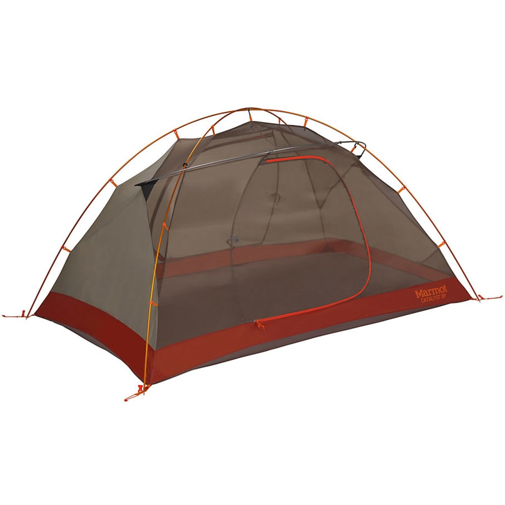 MARMOT Catalyst 2P Tent with Foot Print - ORNGE/CNDR