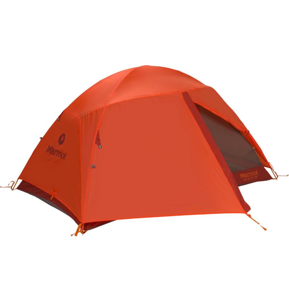 MARMOT Catalyst 3P Tent - RUSTED ORANGE