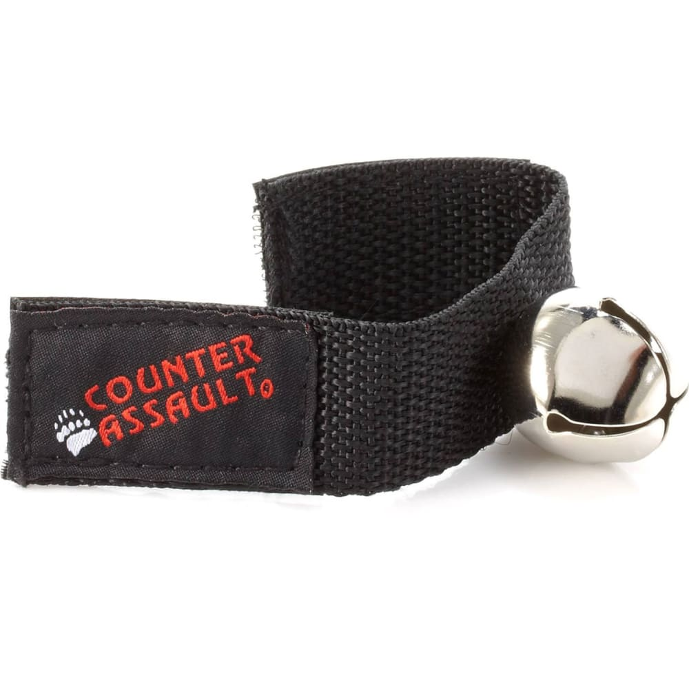 COUNTER ASSAULT Bear Bell with Velcro Strap - BLACK