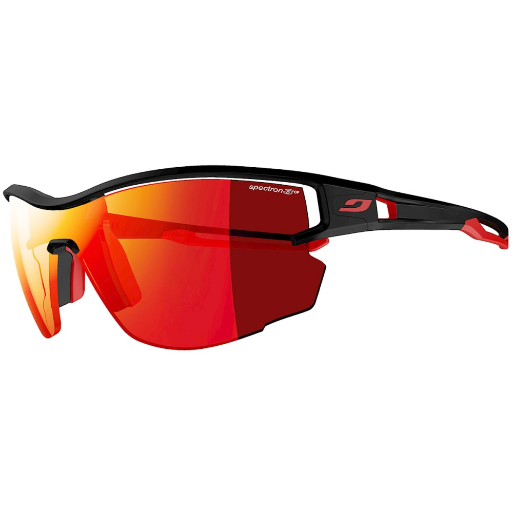 JULBO Aero Sunglasses, Spectron 3 Lenses - BLACK/RED