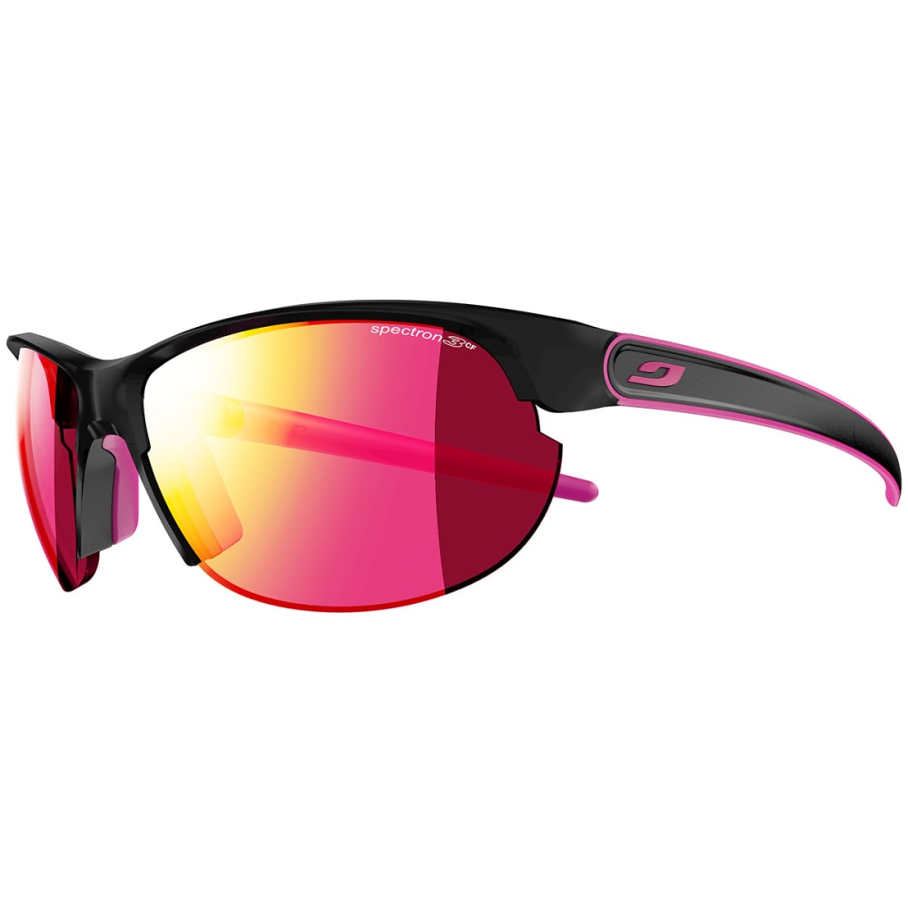 JULBO Breeze Spectron Sunglasses - MATTE BLACK/ PINK