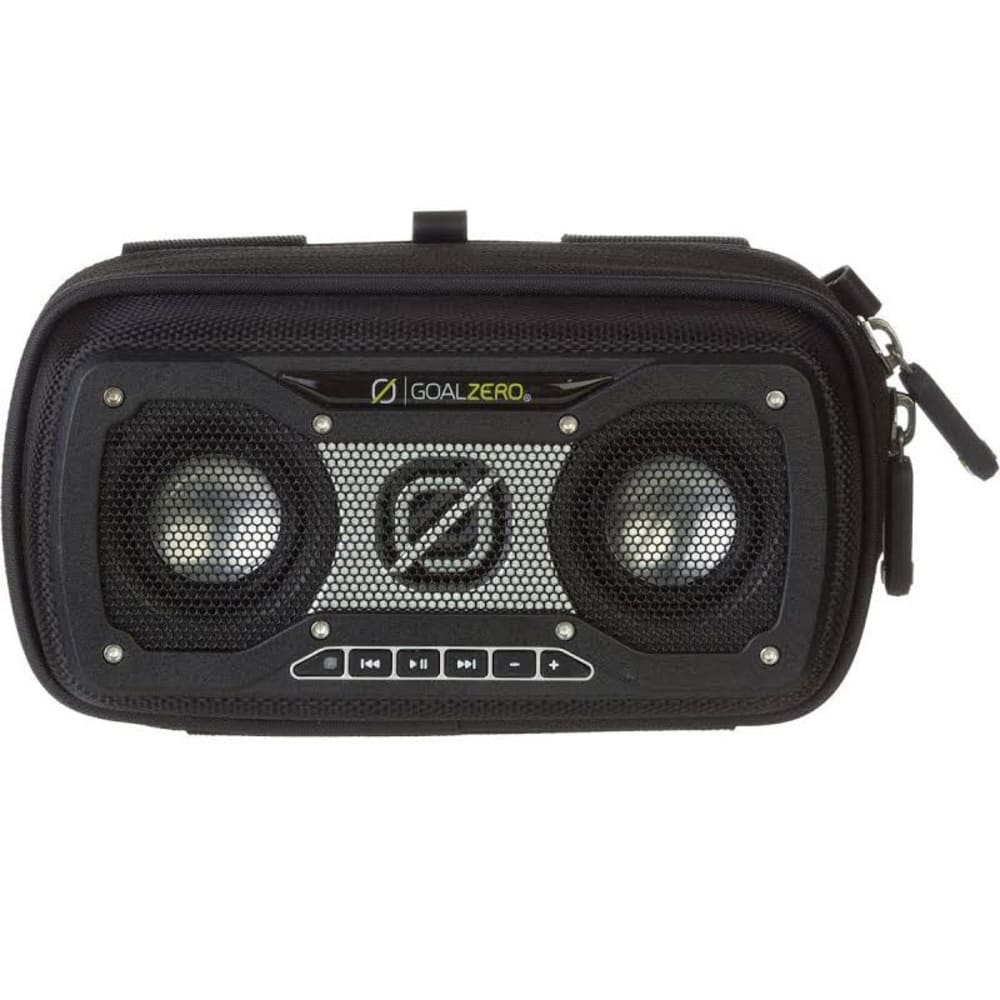 GOAL ZERO Rock Out 2 Solar Rechargeable Speaker - BLACK
