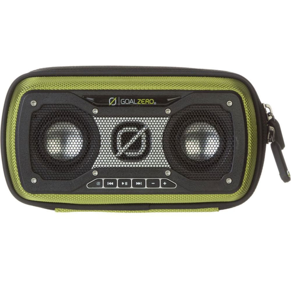 GOAL ZERO Rock Out 2 Solar Rechargeable Speaker - GREEN