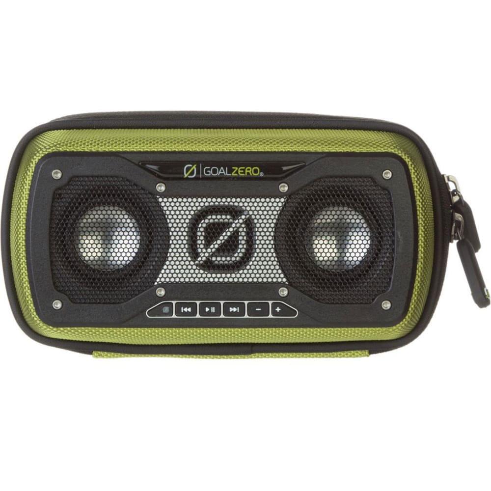 GOAL ZERO Rock Out 2 Solar Rechargeable Speaker - GREEN