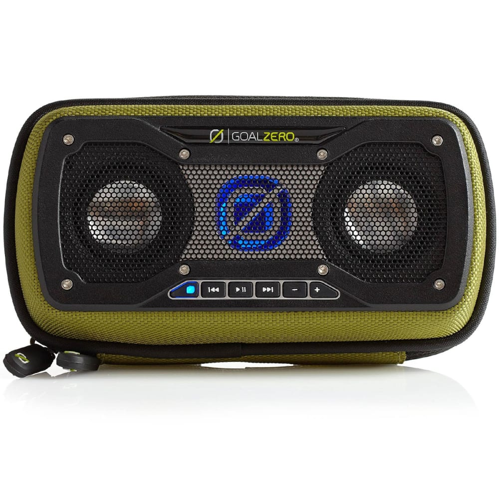 GOAL ZERO Rock Out 2 Wireless Rechargeable Speaker - GREEN