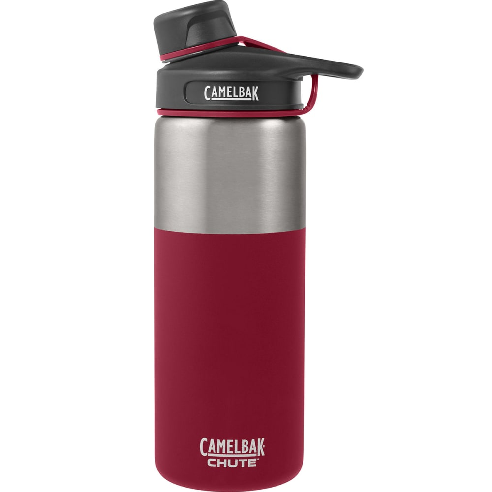 CAMELBAK Chute™ Vacuum Insulated Stainless Steel Water Bottle, .6L - BRICK RED 53866