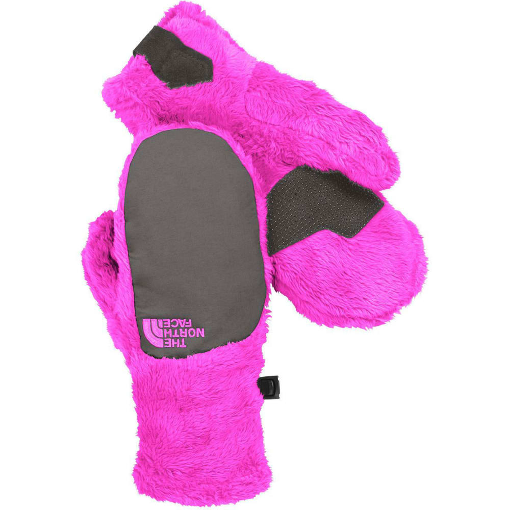 THE NORTH FACE Girls' Denali Thermal Mittens - LUMINOUS PINK