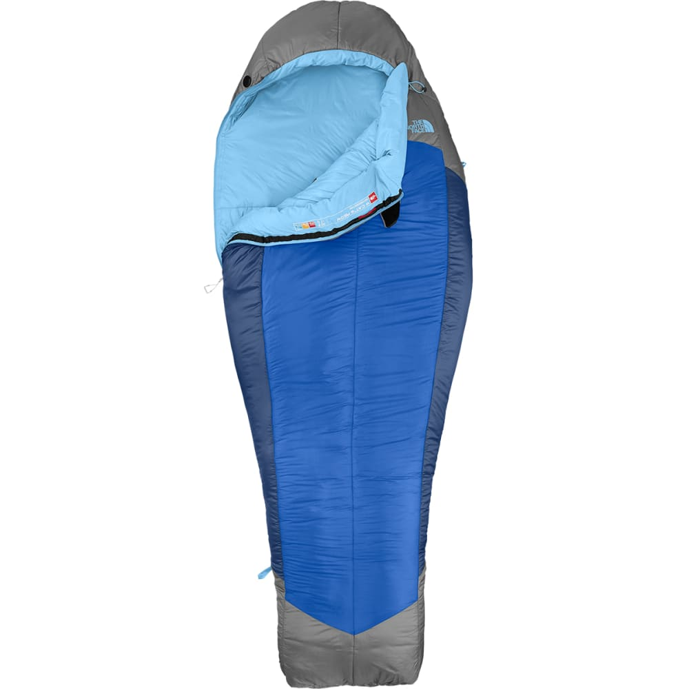 THE NORTH FACE Cat's Meow 20 ° Sleeping Bag, Long - ENSIGN BLU/ZINC GREY
