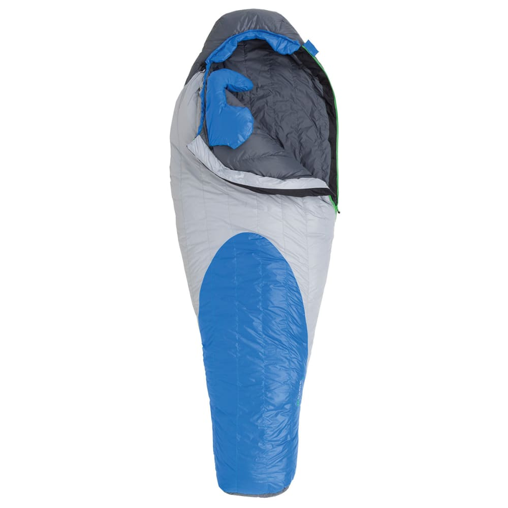 BIG AGNES McAlpin SL 5 Degree Sleeping Bag, Long - GREY/BLUE