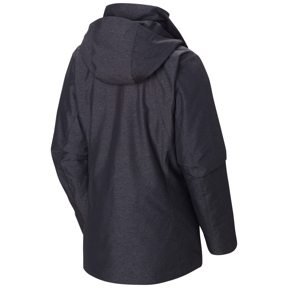 COLUMBIA Women's Whirlibird™ Interchange Jacket - 012-BLACK CROSSDYE