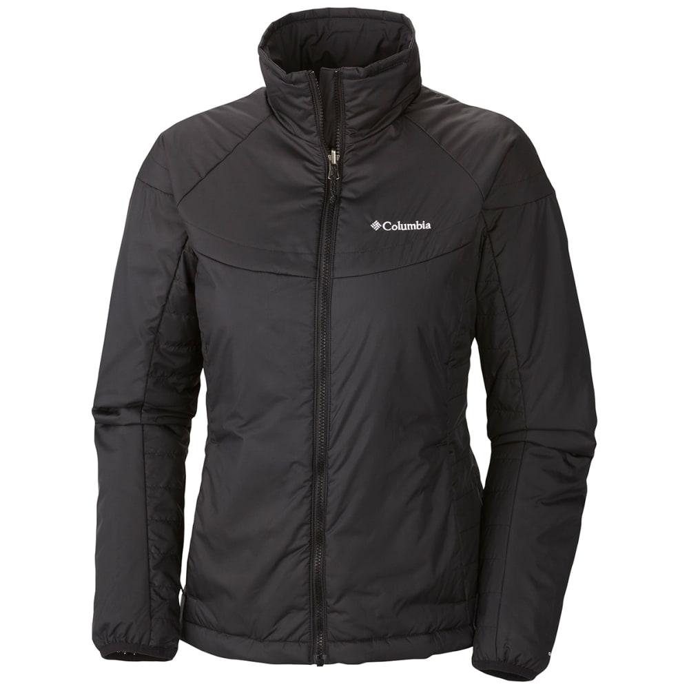 COLUMBIA Women's Whirlibird Interchange Jacket - BLACK PLAID