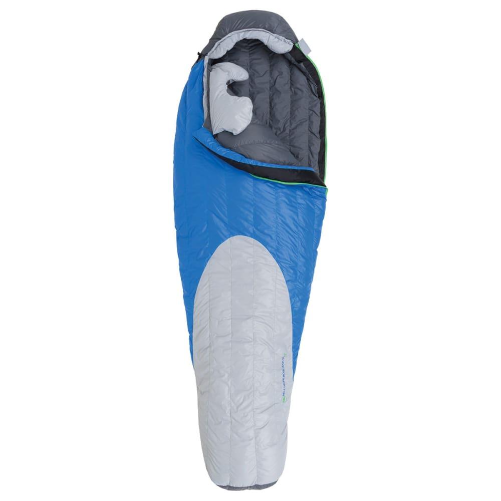 BIG AGNES Bellyache Mountain SL 17 Sleeping Bag, Long - BLUE/GREY