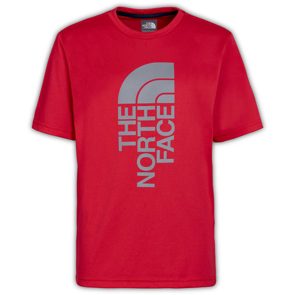 THE NORTH FACE Boys' Reaxion Tee - TNF RED